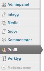 profil meny